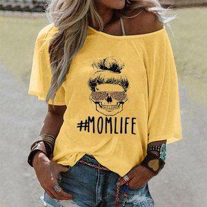 #MOMLIFE Alphabet T-shirt